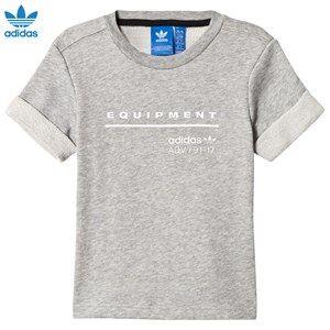 adidas Originals Boys Tops Grey Grey Equipment T-Shirt