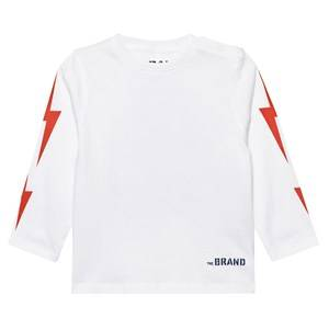The BRAND Unisex Private Label Tops White Boom Long SL Tee White
