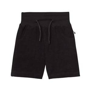 The BRAND Boys Private Label Shorts Black Cotton Terry Jonta Shorts Black