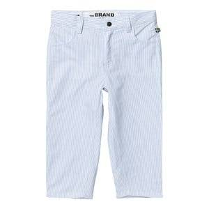 The BRAND Unisex Private Label Bottoms Blue Chinos Thin Blue Stripe Classic