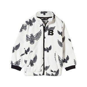 The BRAND Unisex Private Label Fleeces White Fleece Sweater Off White Eagles