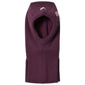 Name it Girls Headwear Purple NITFLASH WOOL BALACLAVA MZ G FO Prune Purple