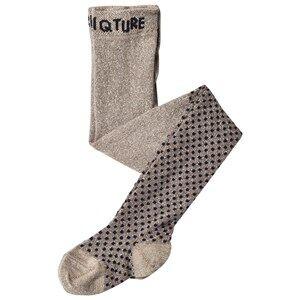 Mini A Ture Girls Underwear Grey Ewa Stockings, BK Taupe Grey