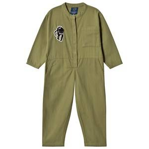 Image of Popupshop Unisex All in ones Green Olive Jumpsuit