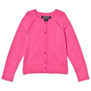 Image of Lands End Girls Jumpers and knitwear Pink Pink Sophie Cardigan