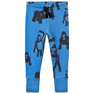 Koolabah Unisex Bottoms Blue Gorilla Ns Pant Blue