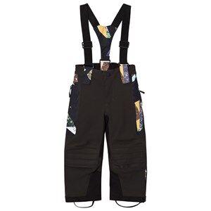 Image of Molo Unisex Bottoms Black Hover Pro Woven pants Mosaic
