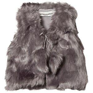 Kiss How To Kiss A Frog Girls Coats and jackets Grey Kiki Vest Grey