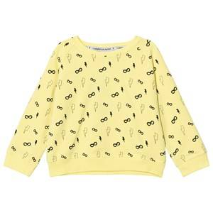 Image of Scamp & Dude Girls Jumpers and knitwear Yellow Yellow Cool Kid Sweatshirt