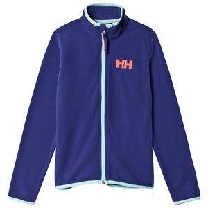 Helly Hansen Girls Fleeces Purple Purple Junior Daybreaker Mid Layer Full Zip Fleece