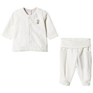 Mayoral Boys Clothing sets Cream Cream Teddy and Bunny Applique Babygrow and Jacket Set
