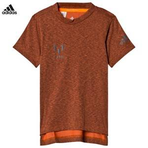 adidas Performance Boys Tops Orange Orange Messi T-Shirt