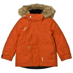 Reima Unisex Coats and jackets Orange Reimatec® Down Jacket Serkku Foxy Orange