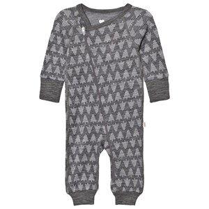 Reima Unisex All in ones Grey Overall Kasvu Melange Grey