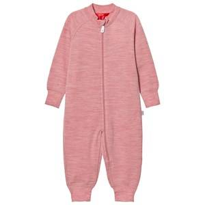 Reima Girls Coveralls Pink Overall Parvin Dusty Rose
