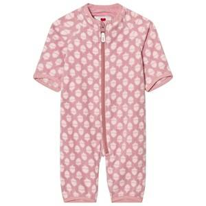 Reima Girls All in ones Pink Onesie Laulu Dusty Rose