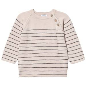 Hust&Claire; Boys Jumpers and knitwear Beige Knitted Sweater Birch