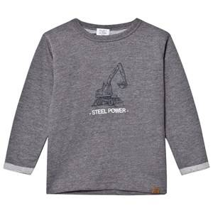 Hust&Claire; Boys Jumpers and knitwear Grey Grey Sweatshirt