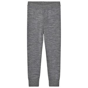 Hust&Claire; Unisex Bottoms Grey Leggings Wool Grey