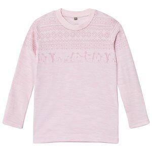 Hust&Claire; Girls Tops Pink Tee Rose Melange