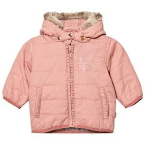 Hust&Claire; Girls Coats and jackets Pink Bird Jacket Rose Tan