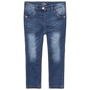 Hust&Claire; Girls Bottoms Blue Slim Fit Jeans Medium