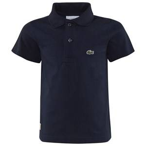 Lacoste Navy Jersey Branded Polo 5 years