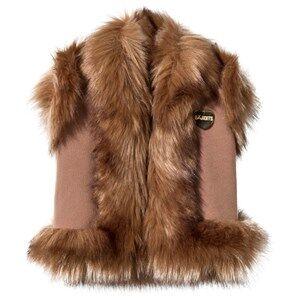 Bandit`s Girl Camel Faux Fur Gilet L (8-9 years)