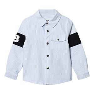 The BRAND Captain Shirt Thin Blue Stripe Classic 128/134 cm
