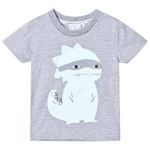 Scamp & Dude Super Marl T-Shirt  Super Dino 5-6 years