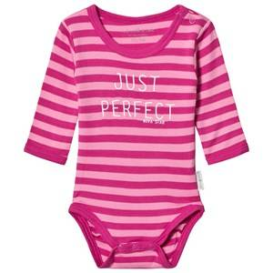 Nova Star Striped Baby Body Pink 86/92 cm