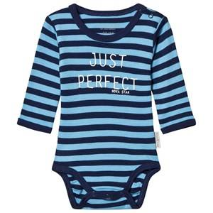 Nova Star Striped Baby Body Marine 62/68 cm