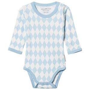 Nova Star Square Baby Body Blue 50/56 cm