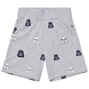 Fabric Flavours Grey Star Wars Empire Sweatshorts 3-4 years