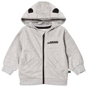 The BRAND Baby Face Hoodie Grey Melange Face 68/74 cm
