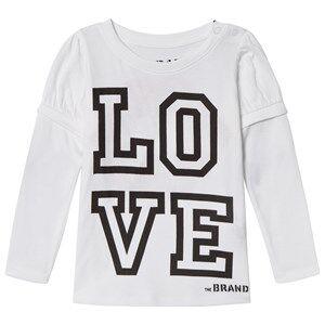 The BRAND Love Kiss Tee White 128/134 cm