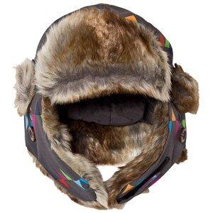 Isbjrn Of Sweden Squirrel Winter Cap Peaks Grey Beanies