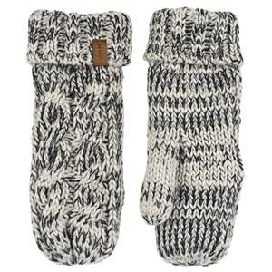 Image of Lindberg Handlight Mittens Grey and Black Ski gloves and mittens
