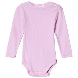 Joha Long Sleeved Baby Body Prime Rose 70 (6-12 Months)