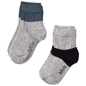 Molo Nord Socks Grey melange 17-19 (6-9 Months)