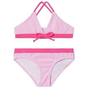 Melissa Odabash Pink with Hot Pink Trim Sky Triangle Bikini 4 years