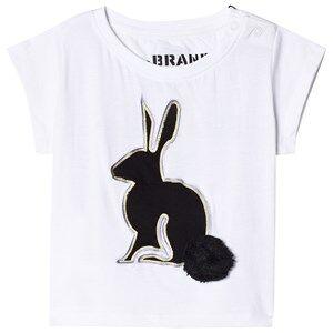 The BRAND 3D Rabbit Tee White 104/110 cm