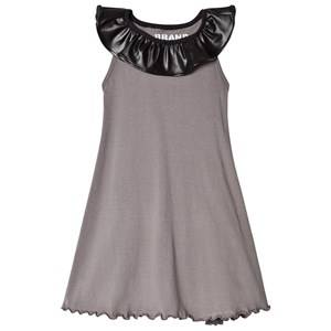 The BRAND Collar Dress Graphite Grey 104/110 cm