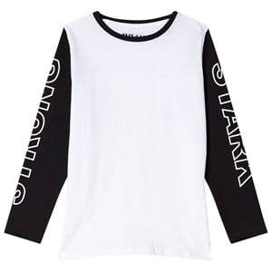 The BRAND Strong Tee Black/White 140/146 cm