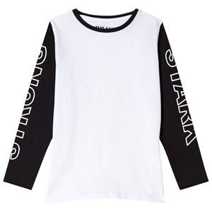 The BRAND Strong Tee Black/White 104/110 cm
