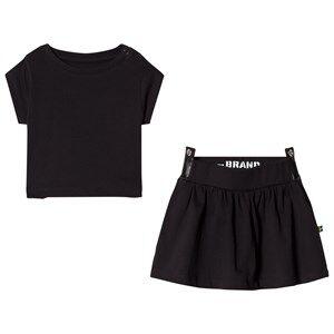 The BRAND Side Dress Black 92/98 cm