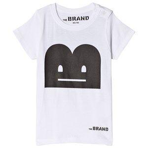 The BRAND B-Moji Laugh Tee White 92/98 cm