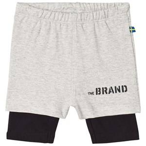 The BRAND Throwback Shorts Grey/Black 80/86 cm