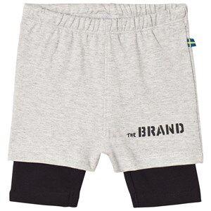 The BRAND Throwback Shorts Grey/Black 80/86 cm
