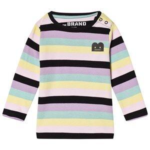 The BRAND B-Moji Tee Pastel Stripes 92/98 cm